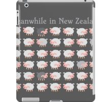 Meanwhile in NEW ZEALAND funny sheep iPad Case/Skin