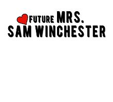 Supernatural : Future Mrs. Sam Winchester by necrophile