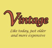 Vintage - Like today, just older and more expensive Kids Clothes