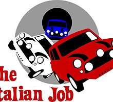 The Italian Job Mini Coopers by car2oonz