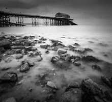 Mumbles pier Swansea Wales by leightoncollins