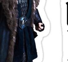 Thorin in Runes Sticker