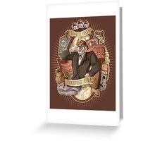 Gravity Falls - Stan the Man Greeting Card