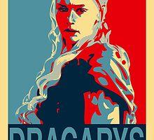 Daenerys Targaryen - Obamized (DRACARYS) by WiseOut