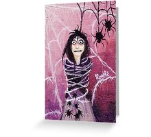 THE FEAR TAKES HOLD Greeting Card
