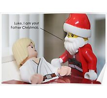 I Am Your Father Christmas Poster