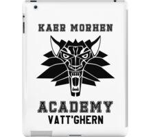 Kaer Morhen Academy iPad Case/Skin