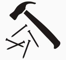Hammer nails by Designzz