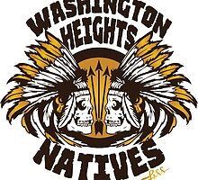 Washington Heights NATIVES (gold) by LAFF