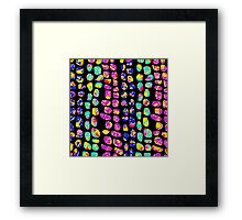 Marching Stones Framed Print
