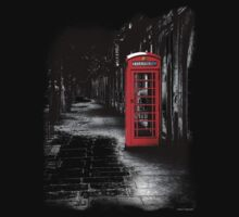 London Calling - Red British Telephone Box Kids Clothes
