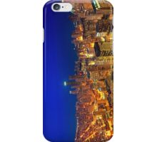 Golden Valleys - Chicago Skyline at Dusk iPhone Case/Skin