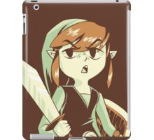 """I'm NOT Your Princess"" - Toon Link - Wind Waker  iPad Case/Skin"