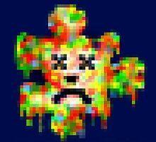 Error Pixel Meltdown by Alan Hogan