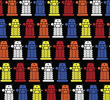 Dalek Pattern by SerenaMasonde