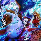 MEGA EVOLUTION! Charizard X  by Iris-sempi