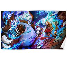 MEGA EVOLUTION! Charizard X  Poster