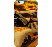 Sunset At The Blanco River iPhone Case/Skin