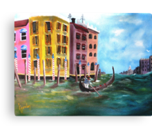 Passion De Venezia Canvas Print