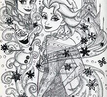 Iconic Elsa and Anna by Kashmere1646