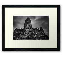 Angkor Wat - Angkor Wat, Cambodia Framed Print