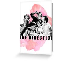 One Direction Watercolor! Greeting Card
