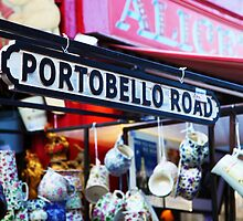 Portobello Road Sign by PoppyCarter