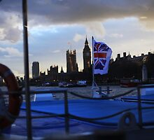 London from the Water by PoppyCarter