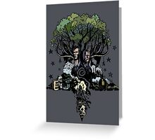 True Detective - The Tree Greeting Card