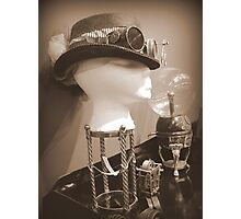 Steampunk Display 1.0 Photographic Print