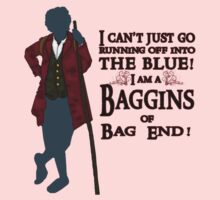 I am a Baggins of Bag End! Kids Clothes
