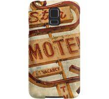 Vintage Star Motel Sign Samsung Galaxy Case/Skin