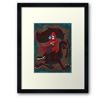 The Big Bad Framed Print