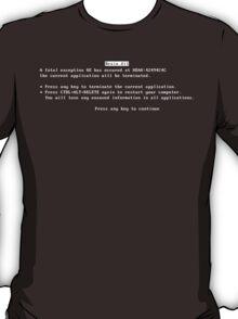 Brain.dll BSOD T-Shirt