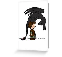 He's Your Dragon, Hiccup Greeting Card