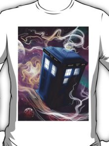 TARDIS In The Time Vortex T-Shirt