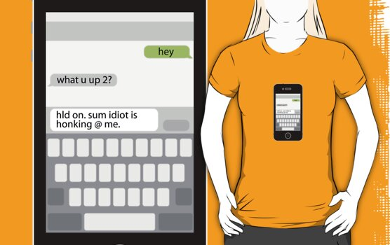 Death by Texting iPhone Edition by peabody00