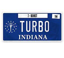 License Plate - TURBO BOOST by TswizzleEG