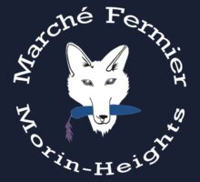 Marché Fermier Morin-Heights Coyote on dark by agronomades