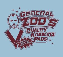 Superman General Zod Kneeling Pads Krypton Kids Clothes