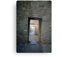 Serial rooms, Pueblo Bonito Metal Print
