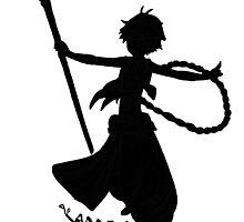Aladdin Silhouette w/name by Jelly Gem