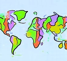You add color to this planet! by Pete Klimek