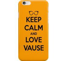 LOVE VAUSE iPhone Case/Skin