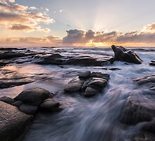 Point Cartwright Sunrise by McguiganVisuals