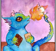 S'more Dragon by Nocturnarwhal