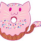 Cat Donut by SurrealistDream