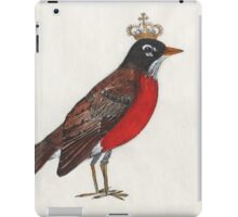 Regal Robin iPad Case/Skin