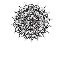 Mandala 2 Photographic Print