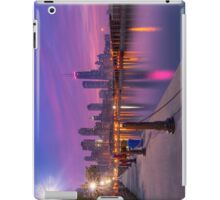 City Dreams - Chicago Skyline at Sunset iPad Case/Skin
